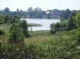 Widok na jezioro Pobojne