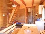 domek drewniany parter