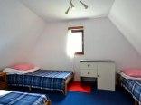 sypialnia w domku piętrowym