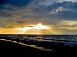 zachód słońca Krynica Morska