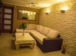 Salon z rozkładaną kanapą