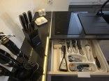 Wyposażony aneks kuchenny
