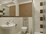 Łazienki w pokojach - typ I