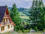 Pokoje z widokiem na góry w Szczawnicy