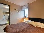Widok z sypialni - apartament 4 osobowy