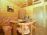 Salon w domku.