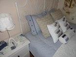 SEA Apartament Hel, łoże sypialne