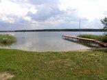 plaża i jezioro powidzkie