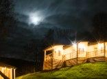 Apartament szwajcarski - nocą