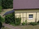 Domek wolnostojący-mur.