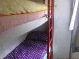 Sypialnia w domku Sunseeker