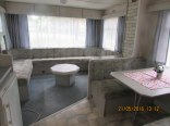 Salon w domku Sunseeker.