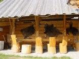 Szałas z grillem Pod pstragiem