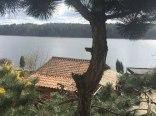 Domek i pokoje nad jeziorem