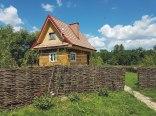 Domki Całoroczne Osada Werdołyna z kominkiem