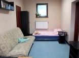 Apartament na parterze - sypialnia