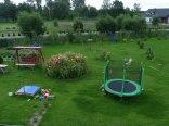 ogród część wypoczynkowa