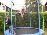 trampolina, domek letniskowy Isola Rowy