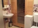 łazienka na parterze i sauna