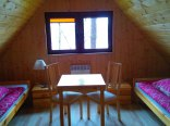 domek - sypialnia na piętrze