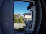 Widok z okna w pokoju nr. 1