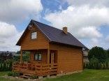 Domek drewniany w Lubkowie