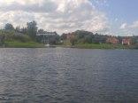 zdjęcie działki z jeziora