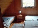 sypialnia górna w domku