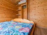 Domek parterowy sypialnia 2 osobowy