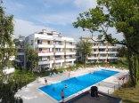 Apartament Laguna - basen zewnętrzny