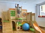 Wewnętrzny plac zabaw dla dzieci