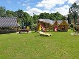 altana i domek zabaw dla dzieci