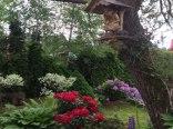 Letni ogród Aplit Guest House