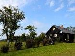 Poniatówka- domek drewniany