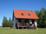 Nowy dom nad jeziorem Sołtmany_Mazury_wynajem
