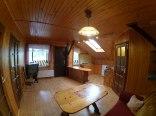 Salon z kuchnią w 1 domku