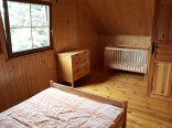 Domki piętrowe do 8 os. (1i2) sypialnia