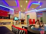 Salon - urządzone w nowoczesnym stylu. W standardzie spa z Jacuzzi 4-6 osob