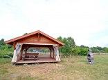 Biały Łabędż LUX Domki 3pok 55m na Dużym terenie
