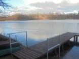 Domek drewniany 100m do jeziora z kąpieliskiem