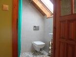 łazienka w pokoju zielonym