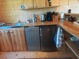 domek drewniany-aneks kuchenny