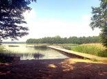 Domek nad jeziorem, mazury, ogrzewany.