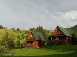 Agroturystyka Bieszczady domki z widokiem na góry