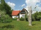 Dom na mazurach nad jeziorem Święcajty