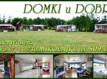 Domki u Dobrusi