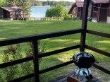 Domek z widokiem na jezioro