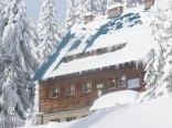 Zimowa sceneria na Hali Lipowskiej.
