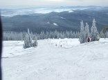 Zimą zapraszamy amatorów białego szaleństwa do jazy na nartach, na naszym w