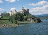 """Zamek """"Dunajec"""" oraz Jezioro Czorsztyńskie"""